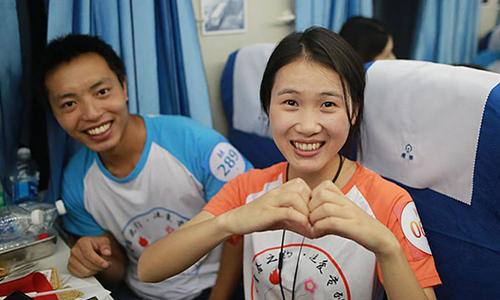 Thanh nien Trung Quoc tim ban doi tren 'chuyen tau tinh yeu'