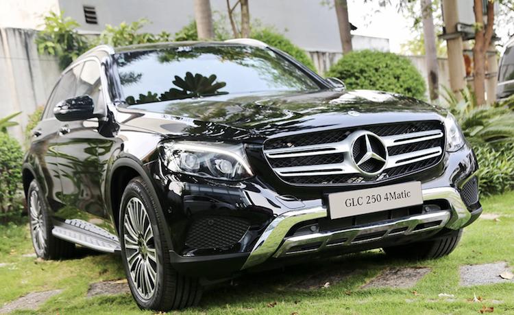 Mercedes GLC có lựa chọn GLC 200 và GLC 250 trong khoảng giá dưới 2 tỷ.