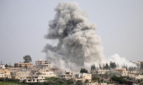 Tên lửa diệt 40 thủ lĩnh phiến quân Syria - ảnh 1