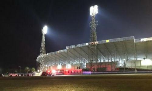 Sân vận động Ladd Peebles, bang Alabama. Ảnh: Sun.