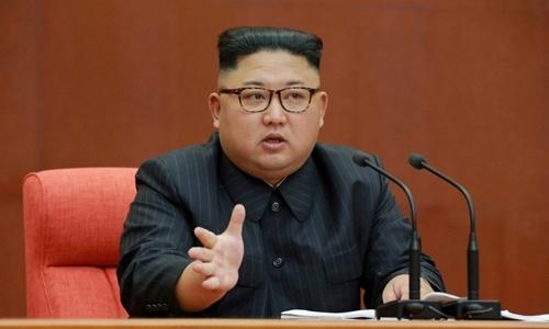 Lãnh đạo Triều Tiên Kim Jong-un. Ảnh: Reuters.