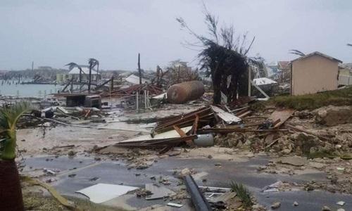 Bão Dorian tàn phá chưa từng có quốc đảo Bahamas