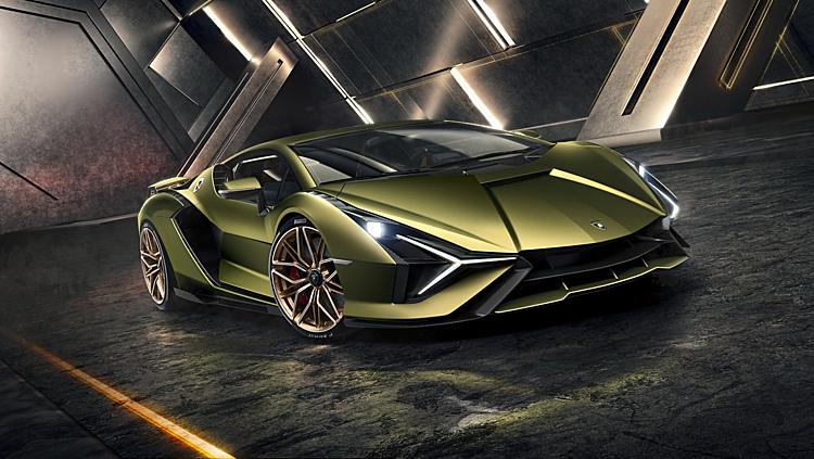 Sián xe hybrid đầu tiên của Lamborghini.