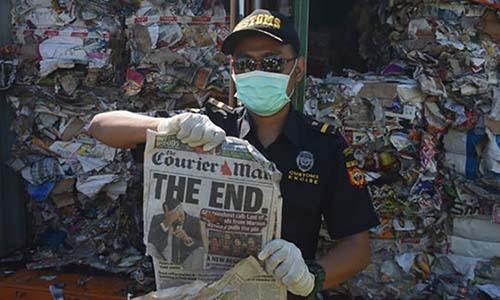 Indonesia tra lai hon 200 container rac