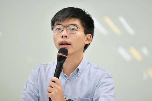 Người biểu tình Hong Kong thỉnh cầu Thủ tướng Đức - ảnh 1