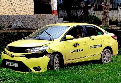 Chiếc taxi trong vụ cướp