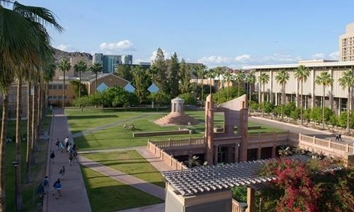 Đại học bang Arizona tại Tempe. Ảnh: ASU.