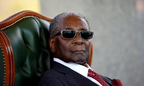 My chi trich co tong thong Zimbabwe