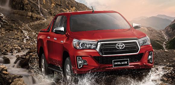 Toyota Hilux thêm phiên bản giá rẻ 622 triệu tại Việt Nam.