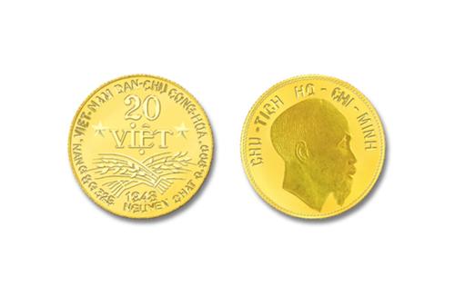 Đồng tiền 20 Việt phiên bản 2019. Ảnh: VT.