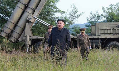 Triều Tiên xác nhận thử pháo phản lực siêu lớn