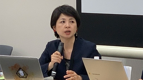 Jun Yamamoto, lãnh đạo một nhóm bảo vệ nạn nhân bị lạm dụng tình dục ở Nhật Bản. Ảnh: NHK.