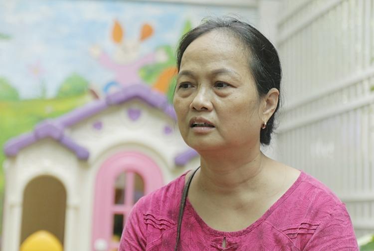 Bà Ngô Thị Hường. Ảnh: Thanh Hằng