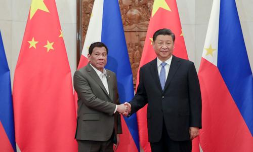Ông Tập đề nghị Philippines đổi phán quyết Biển Đông lấy lợi ích - ảnh 1