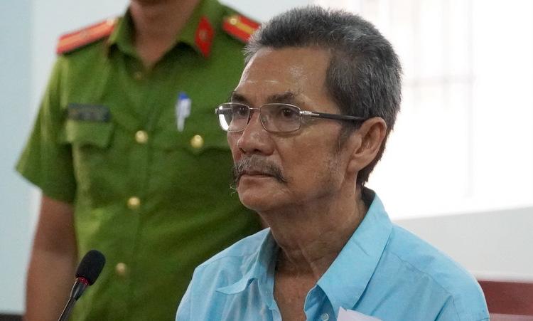 Nguyễn Văn Thừa tại tòa. Ảnh: Tư Huynh.
