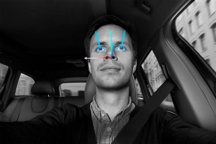 Minh họacho thấy sự tập trung của tài xế. Ảnh: Volvo