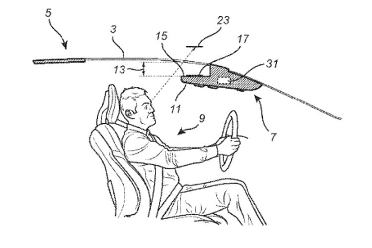 Minh họa trong sáng chế mới của hãng xe Thụy Điển. Ảnh: Volvo