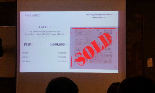 Bản đồ cổ giá gần một triệu USD - ảnh 1