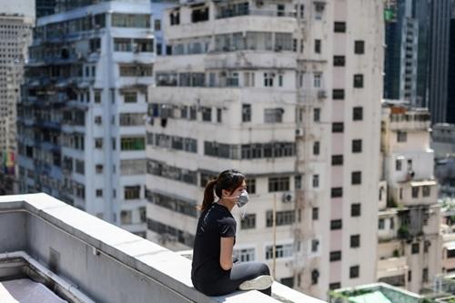 Xung dot giua nguoi bieu tinh Hong Kong va cha me