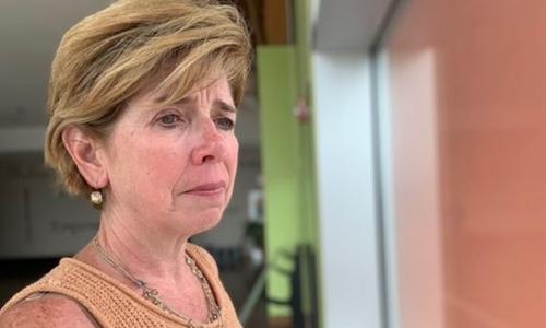 Janice, góa phụ của cảnh sát  Paul McCarthy. Ảnh: BBC.