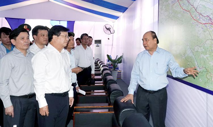 Khởi công dự án đầu tiên trong tuyến cao tốc Bắc - Nam - ảnh 1