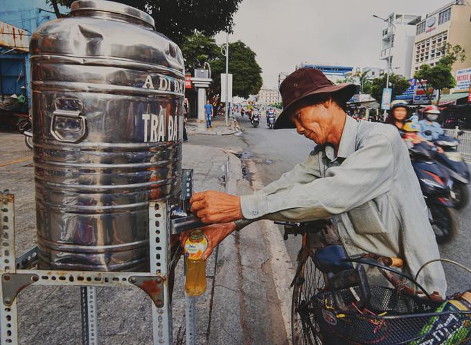 Nhịp sống Sài Gòn qua ảnh triển lãm