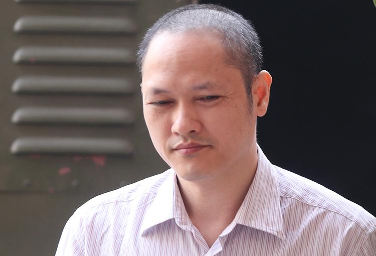 Cựu phó phòng Khảo thí và Quản lý chất lượng Vũ Trọng Lương. Ảnh: Phạm Dự