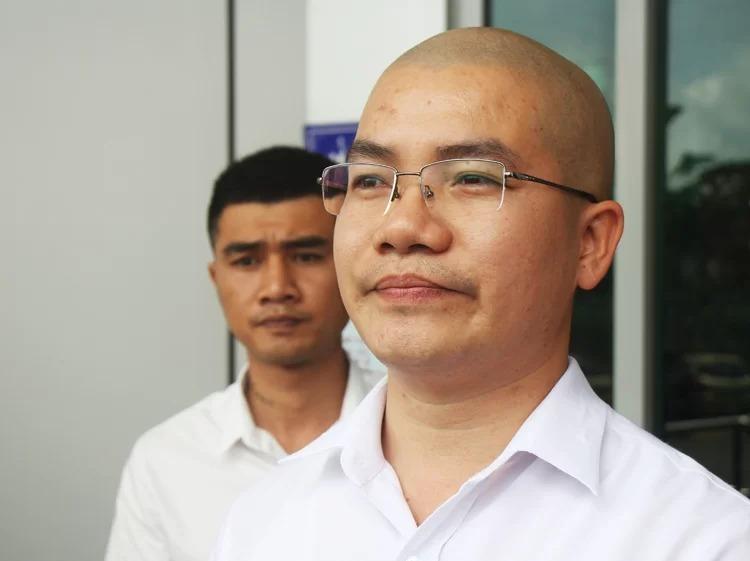 Nguyễn Thái Luyện tại buổi làm việc với Sở Thông tin và Truyền thông Bà Rịa - Vũng Tàu. Ảnh: Nguyễn Khoa.