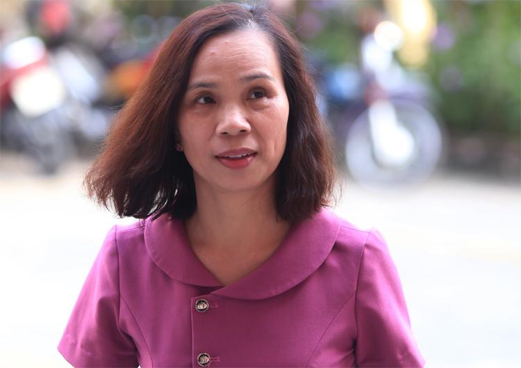 Cựu phó giám đốc Sở Giáo dục và Đào tạo Hà Giang Triệu Thị Chính. Ảnh: Phạm Dự