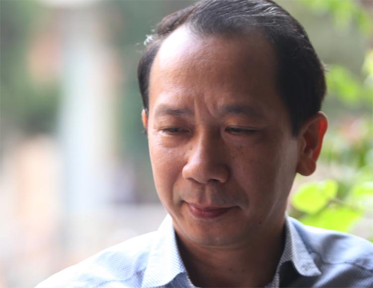 Cựu phó giám đốcSở Giáo dục và Đào tạo Hà Giang Phạm Văn Khuông. Ảnh: Phạm Dự