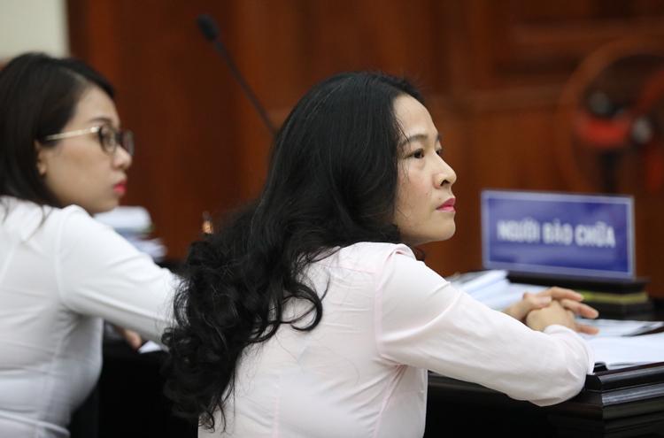 Đại diện bà Thảo. Ảnh: Thành Nguyễn.