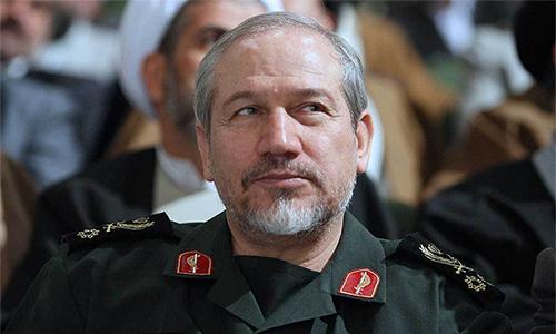 TướngYahya Rahim-Safavi,cố vấn quân sự của lãnh đạo tối cao Iran tại Tehran tháng 2/2018. Ảnh: MM.