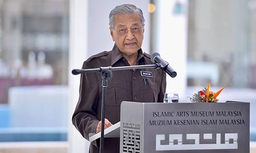 Thủ tướng Malaysia Mahathir hứa chuyển giao quyền lực - ảnh 1