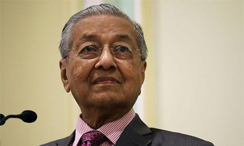 Thu tuong Malaysia Mahathir hua chuyen giao quyen luc