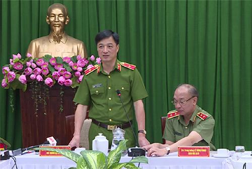 Thứ trưởng Bộ Công an Nguyễn Duy Ngọc. Ảnh: Q.T