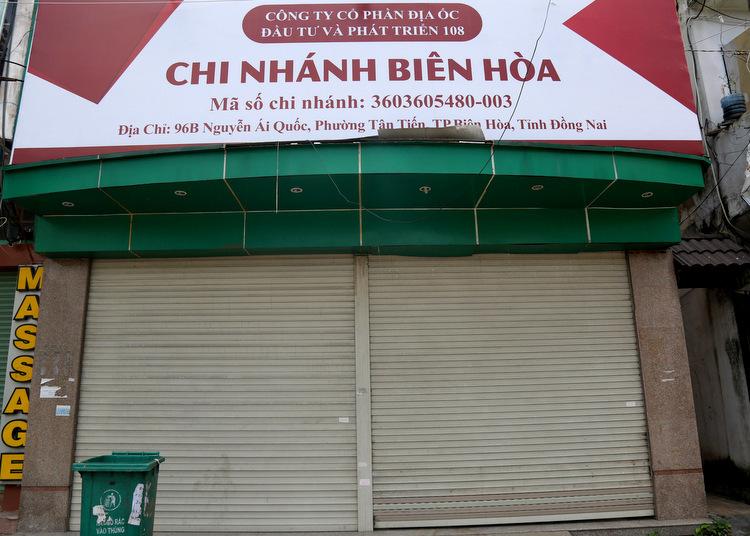 Văn phòng chi nhánh Biên Hòa của Công ty cổ phần địa ốc Alibaba. Ảnh: Phước Tuấn  Địa ốc Alibaba – nơi đóng cửa, chỗ cầm cự 71314349 2363639043877154 4344 6962 7732 1569231928