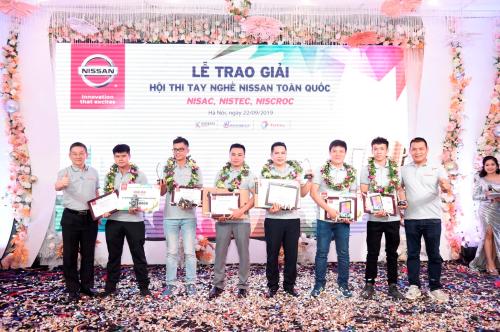Những thí sinh đạt giải cao tại cuộc thi.