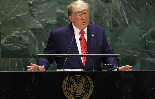 Trump chi trich Trung Quoc tai Lien Hop Quoc