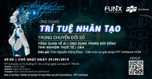 FUNiX tổ chức seminar Ứng dụng AI trong chuyển đổi số