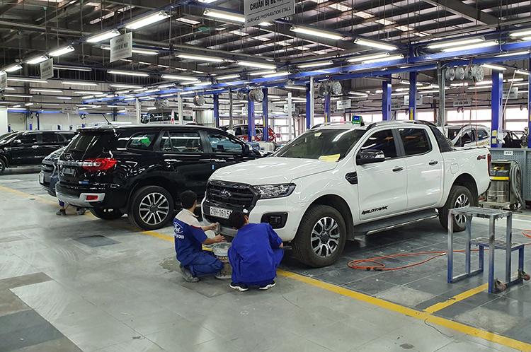 Khách Việt vừa lòng nhất với dịch vụ của Ford