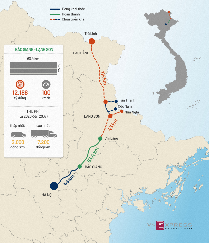 Cao tốc Bắc Giang - Lạng Sơn kết nối các tỉnh đông bắc như thế nào? - ảnh 1