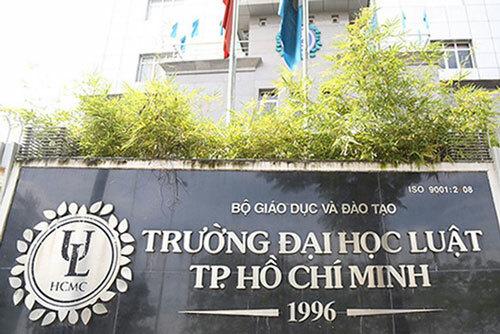Trụ sở trường Đại học Luật TP HCM tại quận 4, TP HCM. Ảnh: Đại học Luật TP HCM.