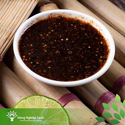 Chẩm chéo là nước chấm không thể thiếu trong bữa cơm người Thái.