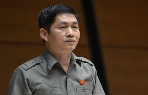 Phó trưởng đoàn đại biểu Quốc hội tỉnh Nam Định Trương Anh Tuấn. Ảnh: Trung tâm báo chí Quốc hội