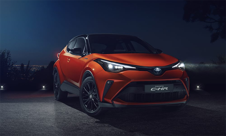 Toyota C-HR 2020 ra mắt toàn cầu.