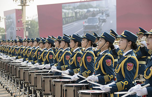 Hoa khôi của lễ duyệt binh Trung Quốc - ảnh 2