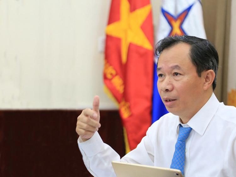 Ông Thiều Kim Quỳnh, Chủ tịch HĐTV Tổng công ty Điện miền Bắc.