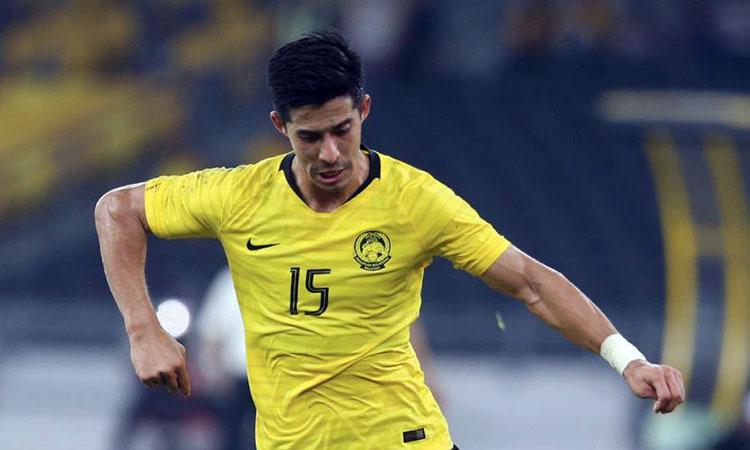 Brendan Gan, 31 tuổi, hiện khoác áo Perak ở giải vô địch Malaysia. Ảnh: NST.