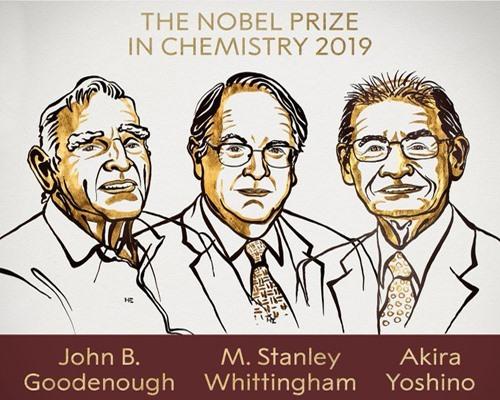 Ba học giả đoạt giải Nobel Hóa học năm nay. Ảnh: Guardian.