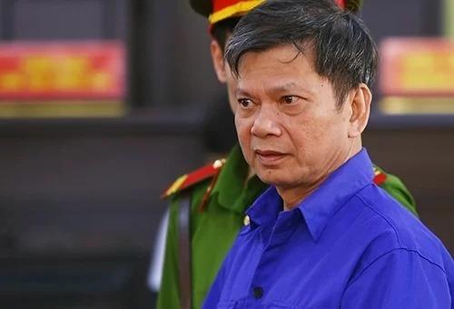 Cựu phó trưởng phòng Khảo thí Lò Văn Huynh. Ảnh: Phạm Dự.